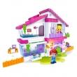 Playset Multikids Pinypon Villa 2 Bonecas + Casa BR551