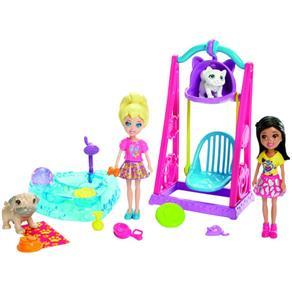 Polly Pocket Brincando Com Bichinhos - Mattel