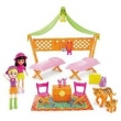 Polly Pocket Safari Festa do Pijama Mattel - DJB25