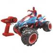 Quadriciclo de Controle Remoto Candide Action Crawler Marvel Homem Aranha com 7 Funções - Azul / Vermelho