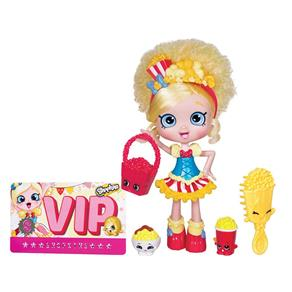 Shopkins - Boneca Shoppies Pipokátia - Mattel