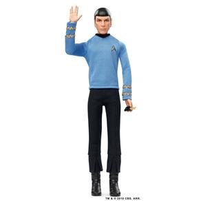 Spock Star Trek Black Label Barbie - Mattel DGW68