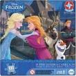 Super Quebra Cabeça 3d Frozen 100 Peças - Estrela