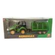 Trator Agromak - Verde C / 2 Cavalos - Silmar Brinquedos