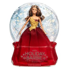 Vermelho Barbie Boas Festas - Mattel DRD25