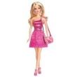 Barbie Figura Básica Glitz - Vestido Rosa T7580 / Bcn35