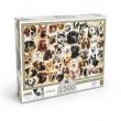 Puzzle 1500 peças Cães & Raças