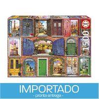 Puzzle 1500 peças Portas Europeias