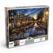Puzzle 2000 peças Verão em Amsterdã