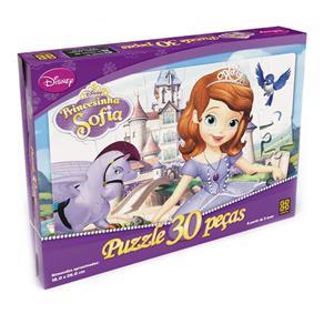 Puzzle 30 Peças Princesinha Sofia - Grow