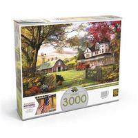 Puzzle 3000 peças Fazenda Americana