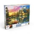Puzzle 4000 peças Chalé na Montanha