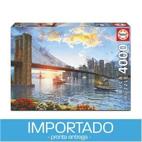 Puzzle 4000 peças Ponte do Brooklyn
