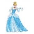 Puzzle Contorno Cinderela - Princesas Disney