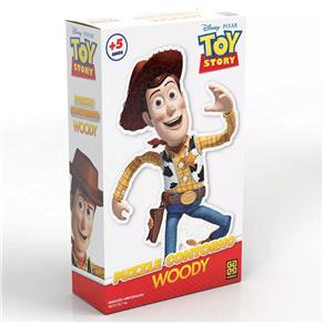 Puzzle Contorno Grow Woody - 74 Peças