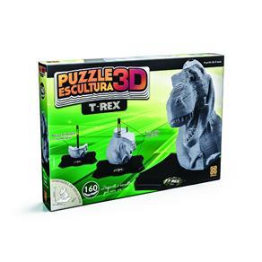 Puzzle Escultura 3D T - Rex