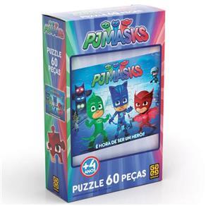 Puzzle Grow PJ Masks - 60 Peças