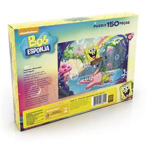 Quebra - Cabeça 150 Peças Bob Esponja - Grow