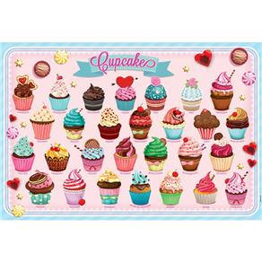 Quebra Cabeça 150 Peças Cupcakes - Grow