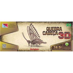 Quebra - Cabeça 3D - Borboleta