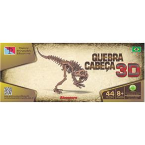 Quebra - Cabeça 3D - Dinossauro - Alossauro