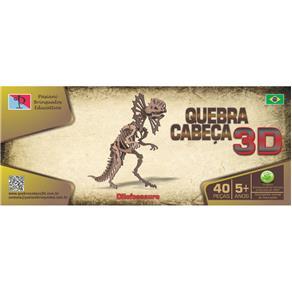 Quebra - Cabeça 3D - Dinossauro - Dilofossauro