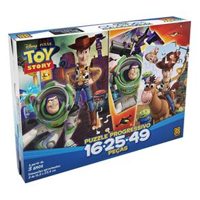 Quebra - Cabeça 60 Peças Toy Story - Grow
