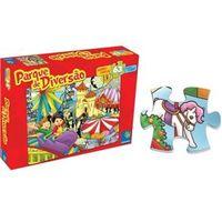 Quebra - Cabeça 63 Peças Parque De Diversão - ABC Brinquedos