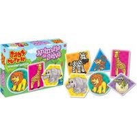Quebra - Cabeça Baby Puzzle Animais Da Selva - ABC Brinquedos