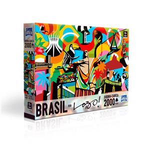 Quebra Cabeça Brasil 2000 Peças - Toyster