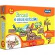 Quebra Cabeça Brasil e Seus Estados - Toyster