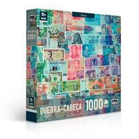 Quebra Cabeça Cédulas 1000 Peças - Toyster