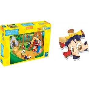 Quebra - Cabeça Contos Clássicos Branca De Neve - ABC Brinquedos