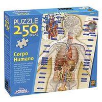 Quebra Cabeça Corpo Humano 250 Peças - Grow