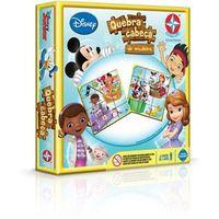 Quebra - Cabeça de Madeira Disney Junior