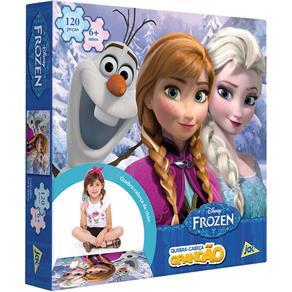 Quebra Cabeça Disney Frozen 120 Peças - Toyster