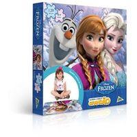 Quebra - Cabeça Grandao Frozen