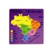 Quebra - Cabeça Mapa Do Brasil - ABC Brinquedos