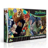 Quebra - Cabeça Panorâmico Zootopia - Toyster