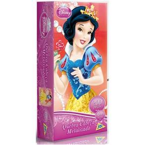 Quebra - Cabeça Princesas Metalizado