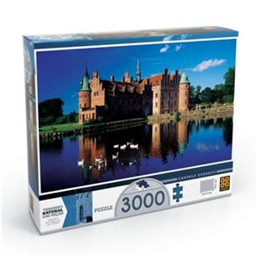 Quebra - Cabeça Puzzle Castelo Egeskov 3.000 Peças Grow - 3249