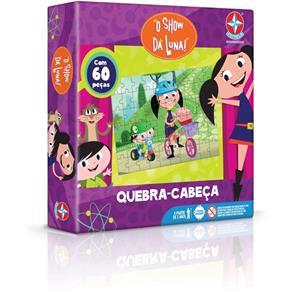 Quebra Cabeca Show Da Luna 60 Pçs - Estrela
