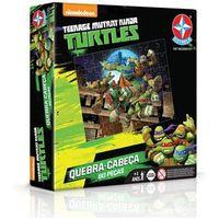 Quebra Cabeça Tartarugas Ninja 60Pçs - Estrela