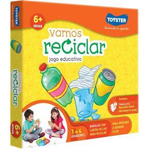 Quebra Cabeça Vamos Reciclar - Toyster