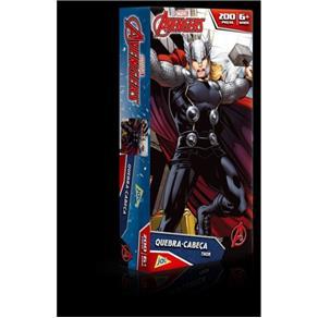 Quebra - Cabeça Vingadores - Capitao America e Thor