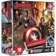 Super Quebra Cabeça 3d Avengers 100 Peças - Estrela