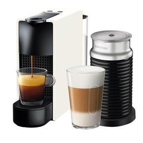 Cafeteira Nespresso Essenza Mini C30 Branco - 110V + Aeroccino 3 110V