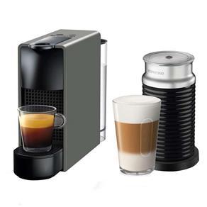 Cafeteira Nespresso Essenza Mini C30 Preto - 110V + Aeroccino 3 110V