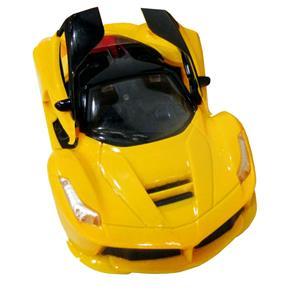 Carro de Controle Remoto CKS com 7 Funções + Função Abre Portas - Amarelo