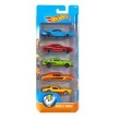 Conjunto de Carros Mattel Hot Wheels Muscle Mania - 5 Unidades